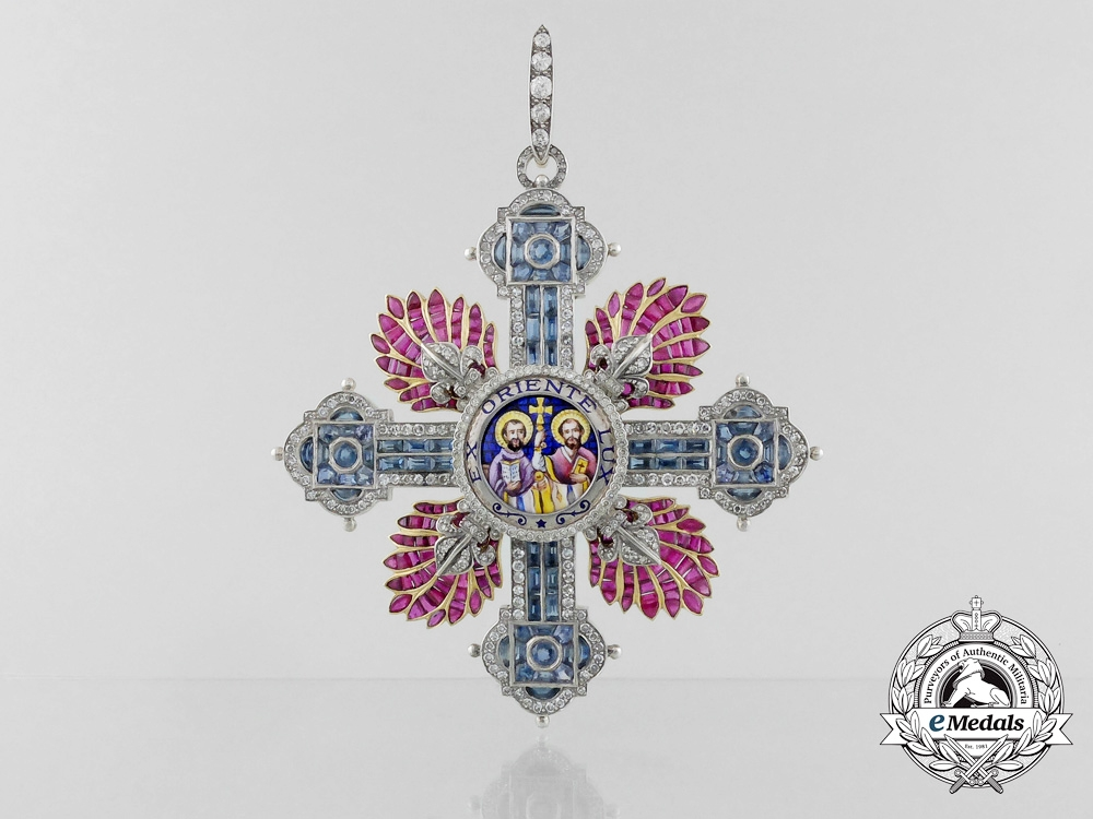 eMedals-A Most Superb Order of Saint Cyril and Saint Methodius
