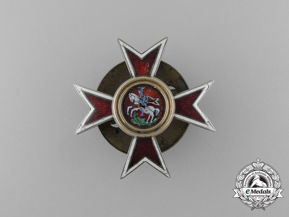 eMedals-An Imperial Russian Chuguev Military School Badge