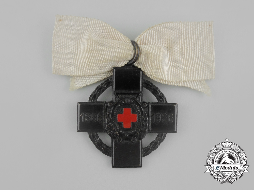 eMedals-  A Rare Cross of the Fatherland Ladies of the Red Cross 1866-1926