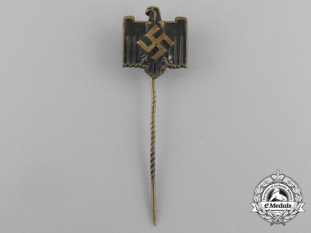 eMedals-A Second War German DRL Membership Stick Pin