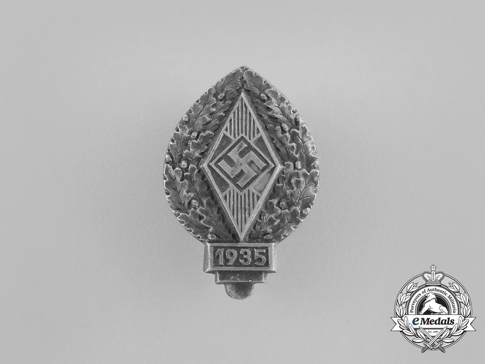 eMedals-Germany, HJ. A 1935 Donation Badge, by R. Neff, Berlin