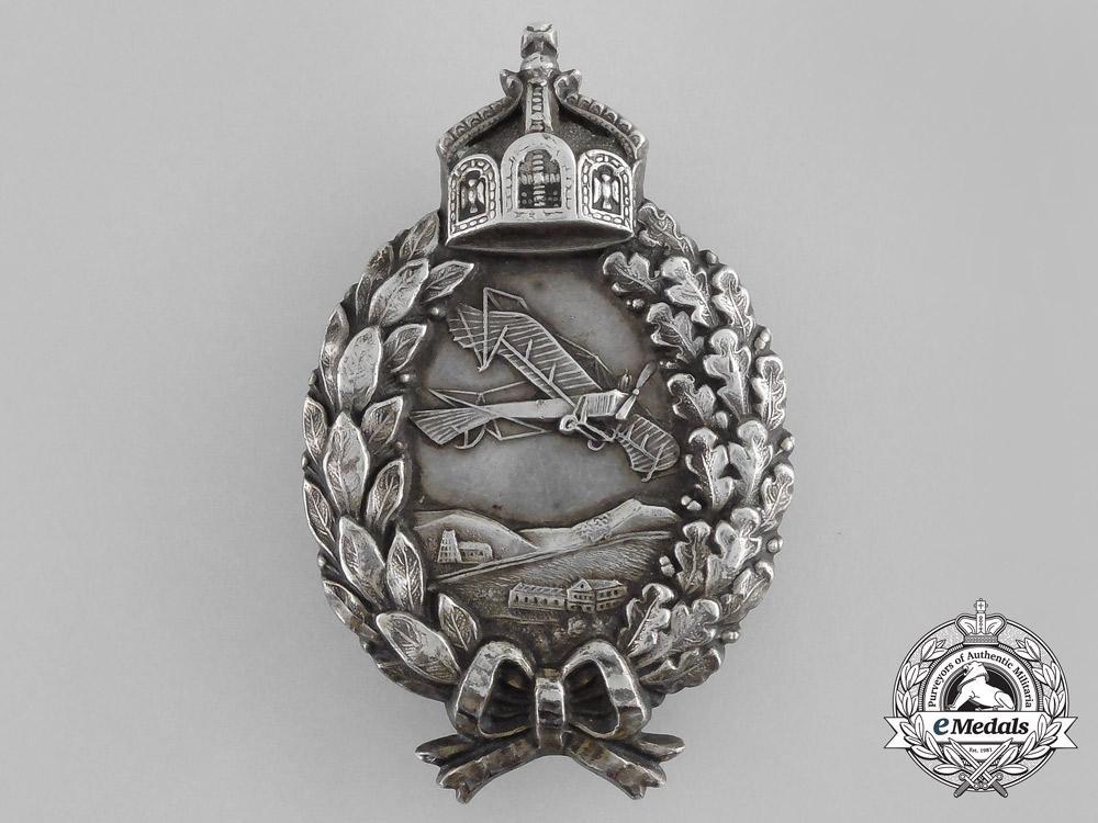 eMedals-A First War Prussian Pilot's Badge by C. E Juncker of Berlin