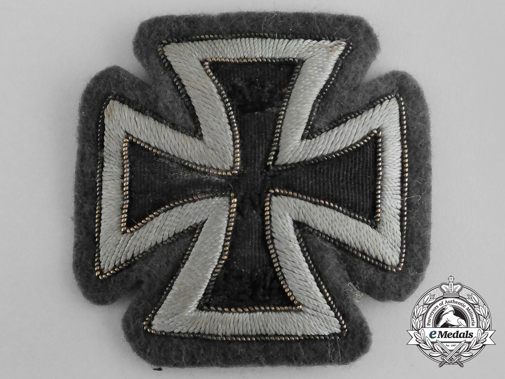 eMedals-Germany, Imperial. A Cloth Version Iron Cross 1914, I Class
