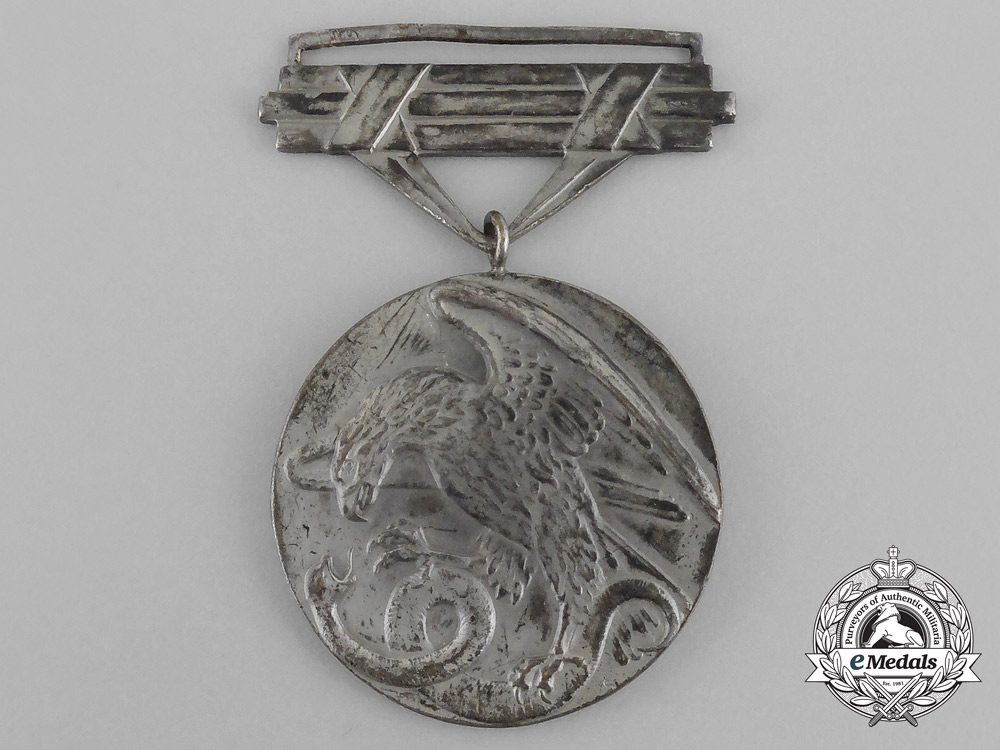 eMedals-Slovakia. A Bravery Medal, 2nd Class, c.1942