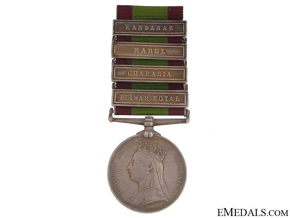 eMedals-Afghanistan Medal, 1878-1880 - 4 Bars