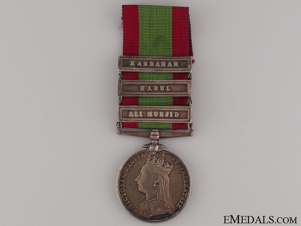 eMedals-Afghanistan Medal 1880 - 4th Goorkha Regiment