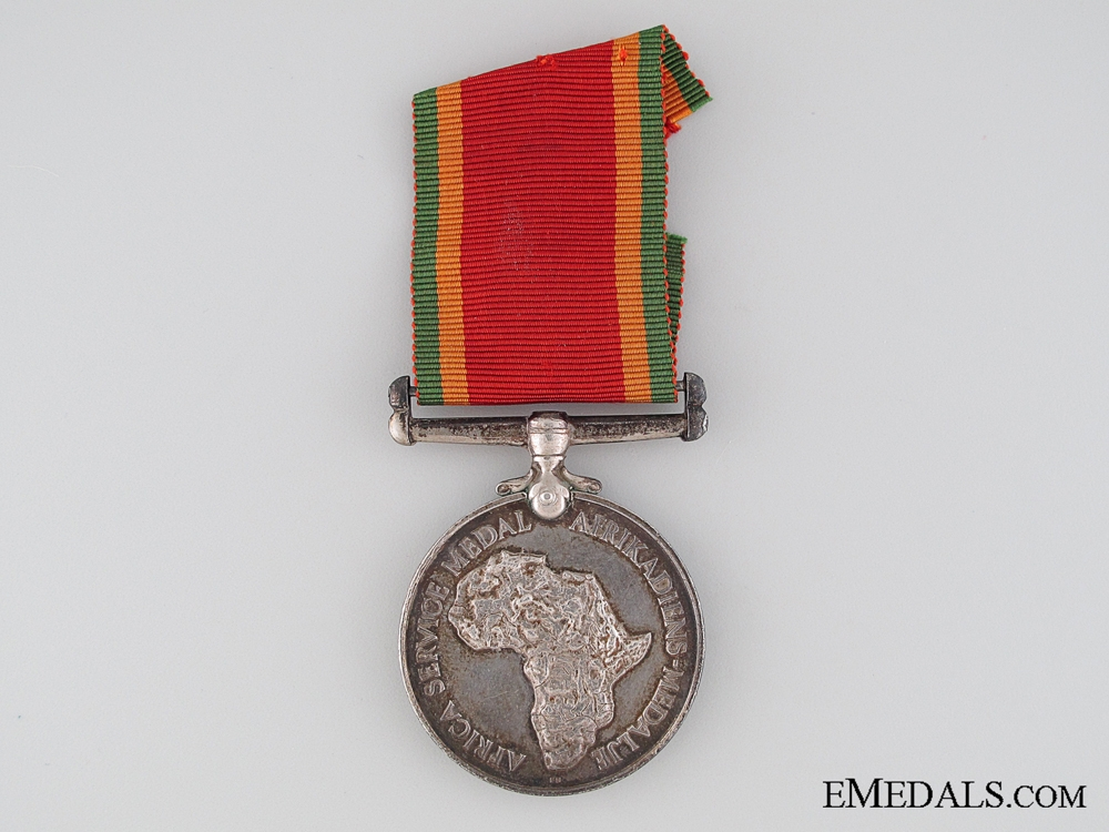 eMedals-African Service Medal to E.L. Phillips