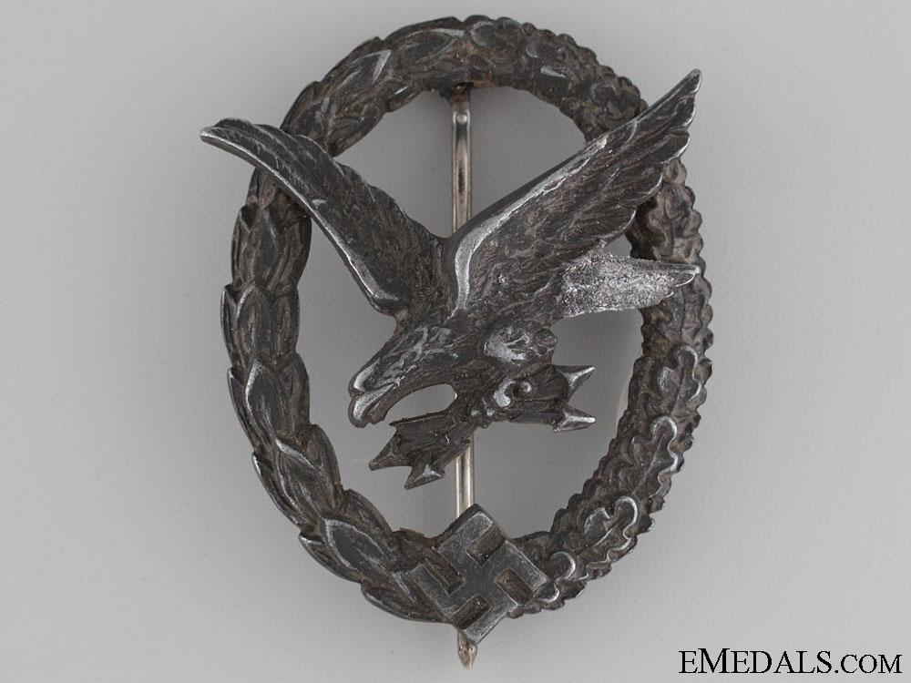 eMedals-A Luftwaffe Air Gunner & Radio Operator Badge by W. Deumer