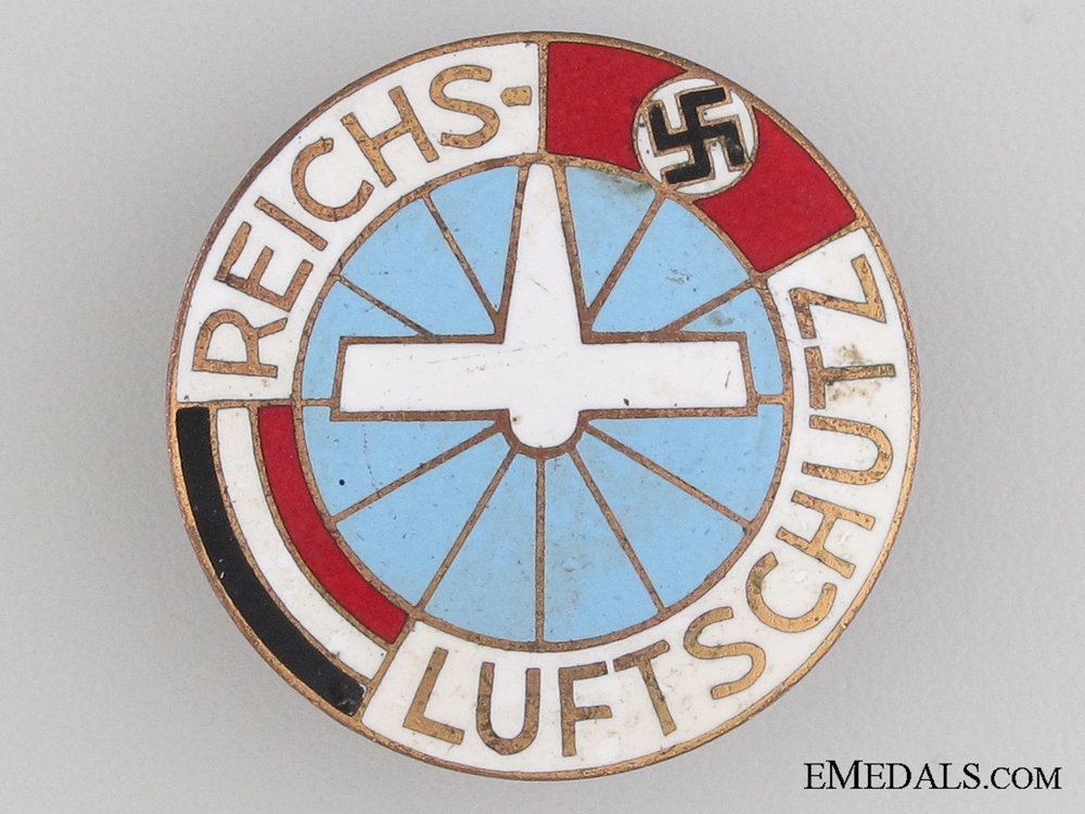 eMedals-Air Raid Protection Badge