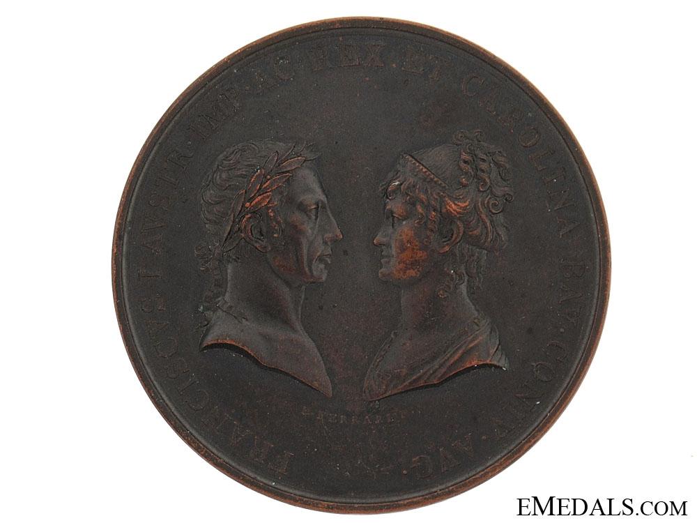 eMedals-Francis I & Carolina Table Medal