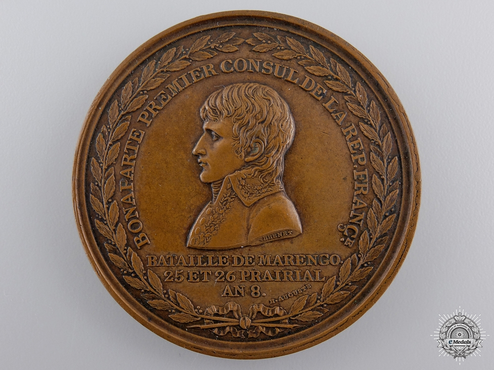 eMedals-An 1800 Napoleon's Battle of Marengo Medal