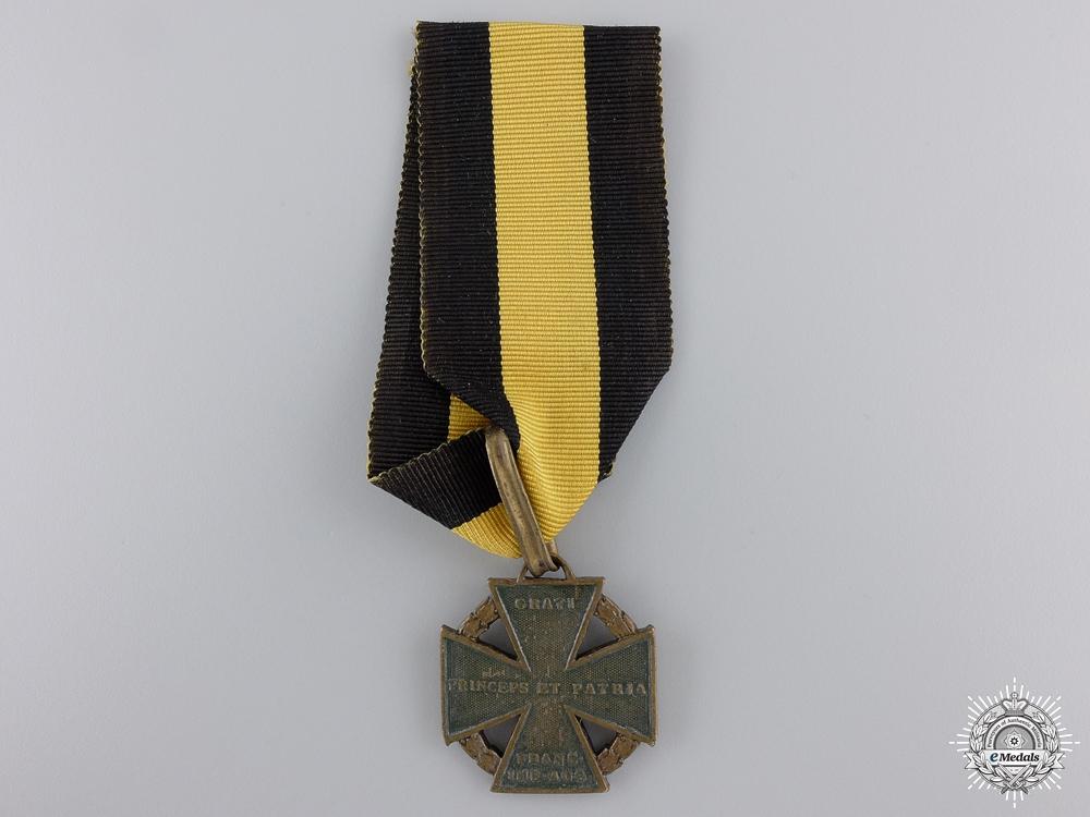 """eMedals-An 1813-14 Austrian Army Cross; """"Kanonenkreuz"""""""