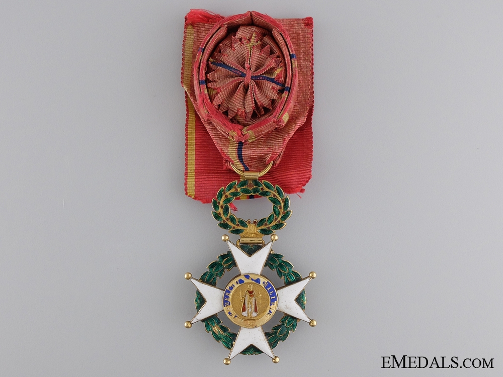 eMedals-An 1822 Military Order of St.Ferdinand in Gold; French Version