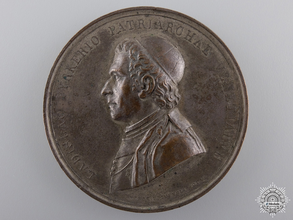 eMedals-An 1827 Italian Patriarch of Venice Ladislaus Pyrker Medal