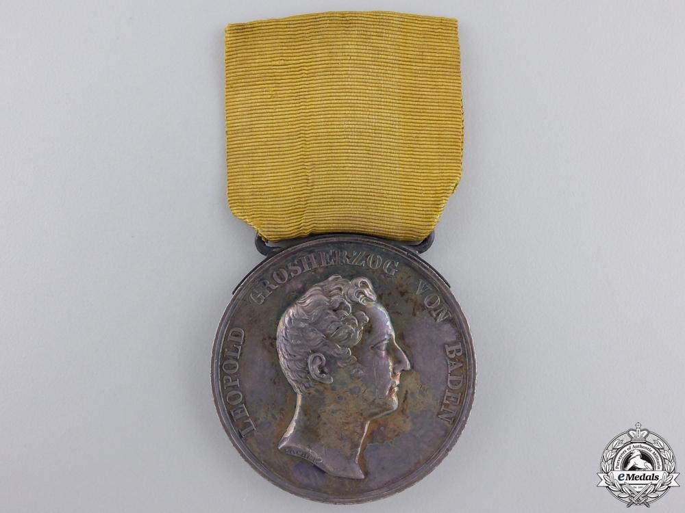 eMedals-An 1830–1852 Baden Silver Civil Merit Medal