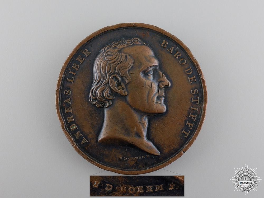 eMedals-An 1834 Baron de Stifft Commemorative Table Medal