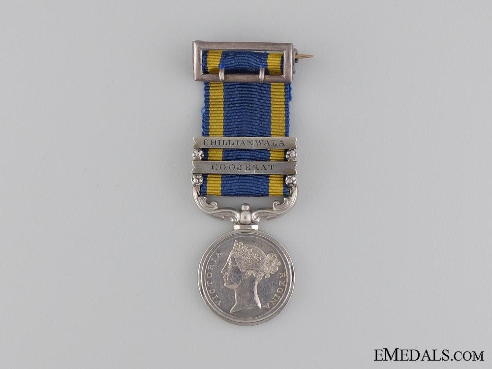eMedals-An 1848-49 Miniature Punjab Medal