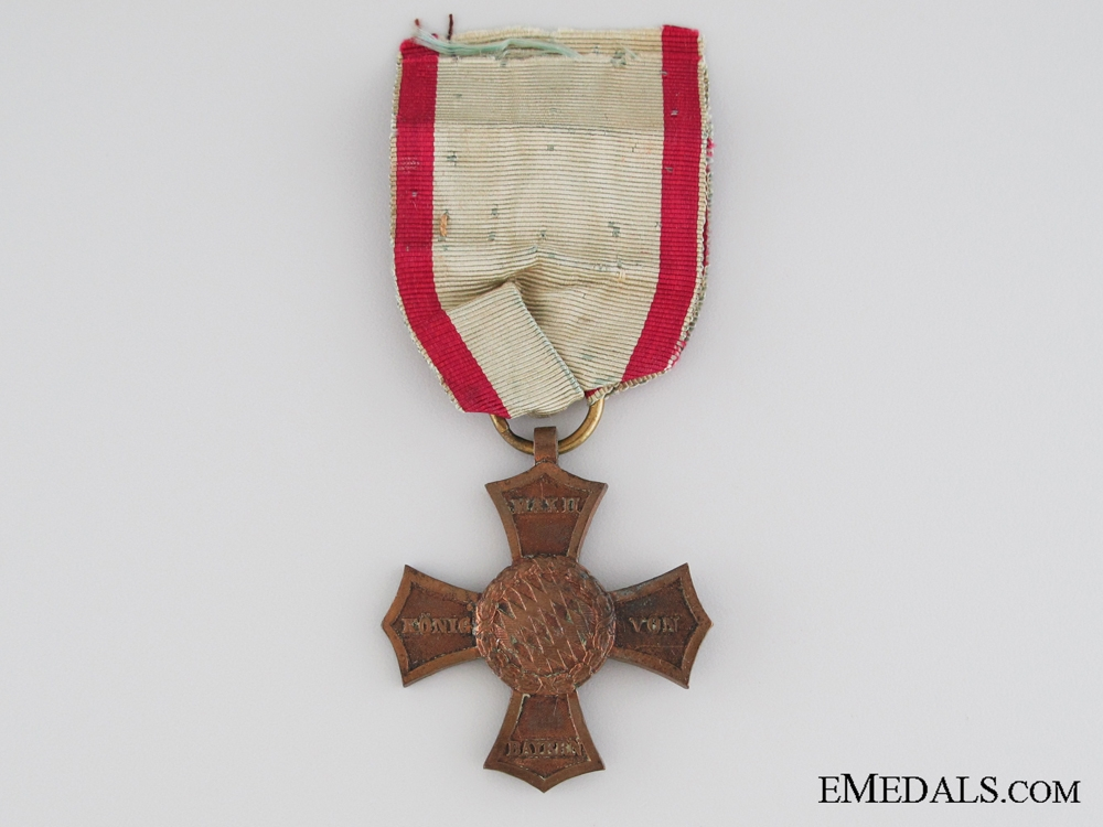 eMedals-An 1848 Napoleonic Veteran's Cross