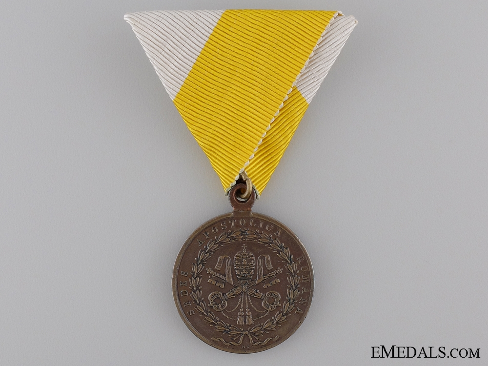 eMedals-An 1849 Medal for the Siege of Rome