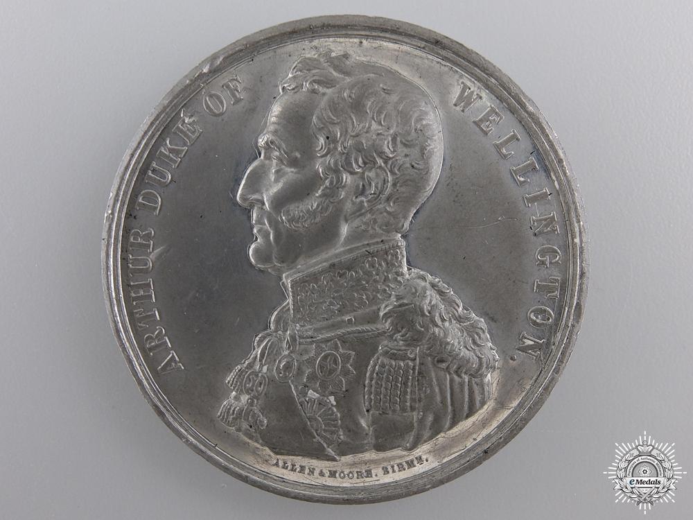 eMedals-An 1852 Arthur Duke of Wellington Remembrance Medal