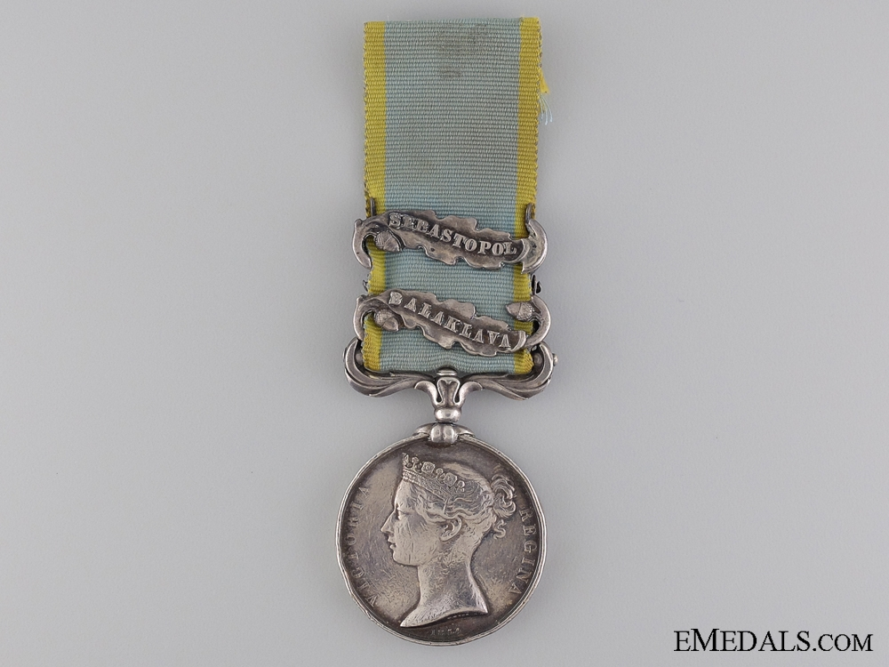eMedals-An 1854 Crimea Medal to the Royal Marines