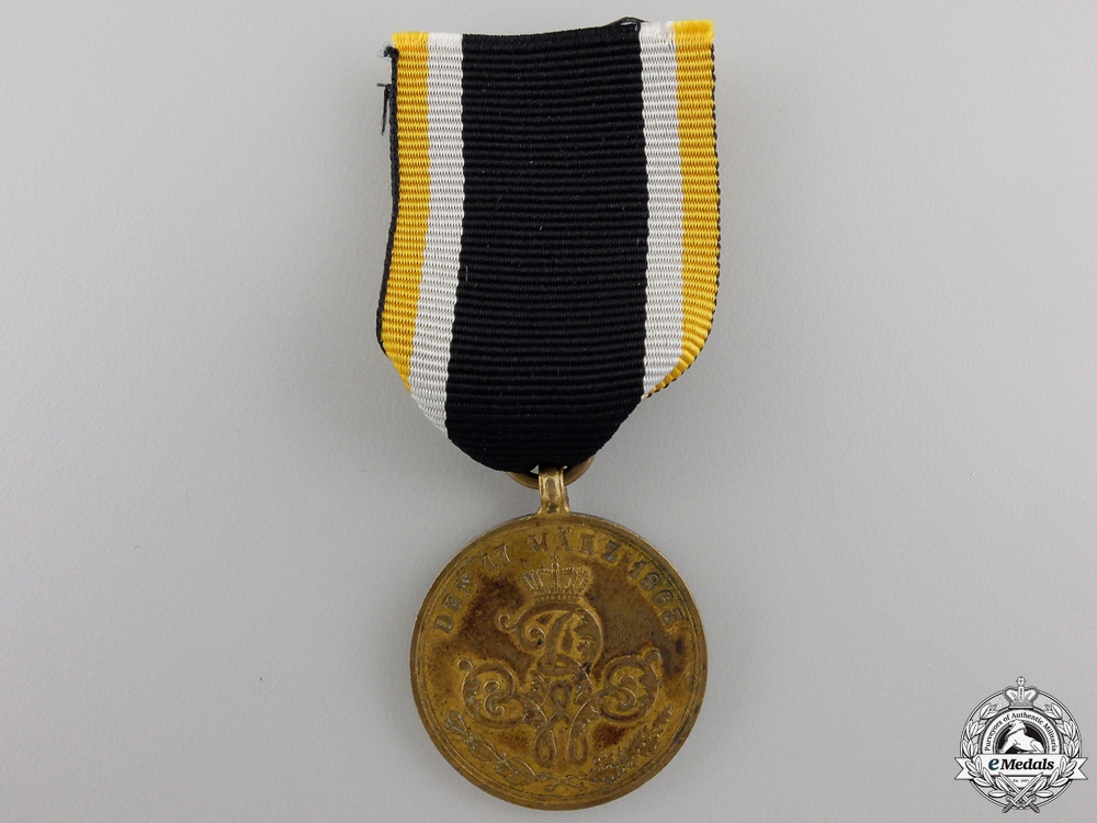 eMedals-An 1863 Prussian Commemorative War Merit Medal