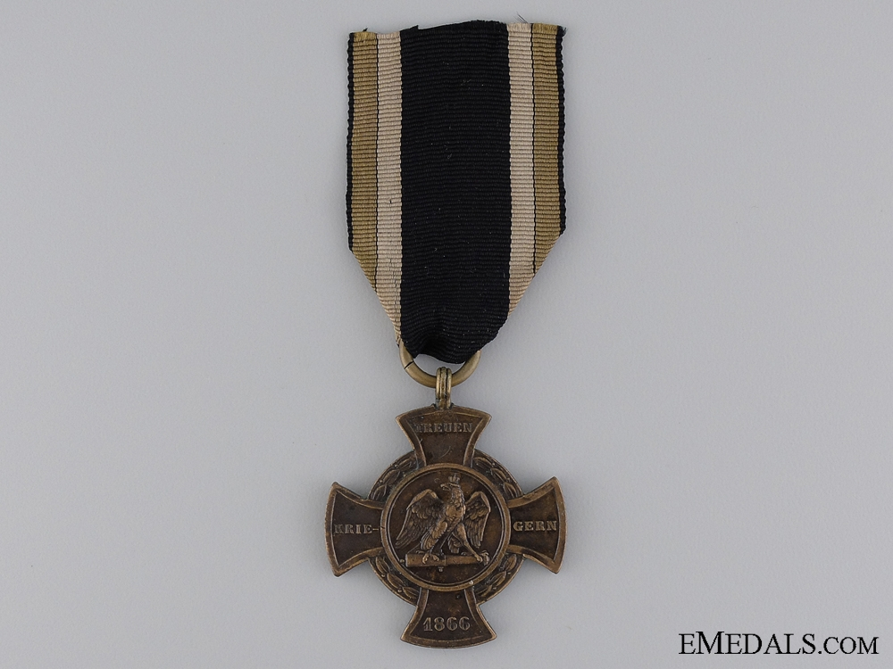 eMedals-An 1866 Prussian War Medal; Type III