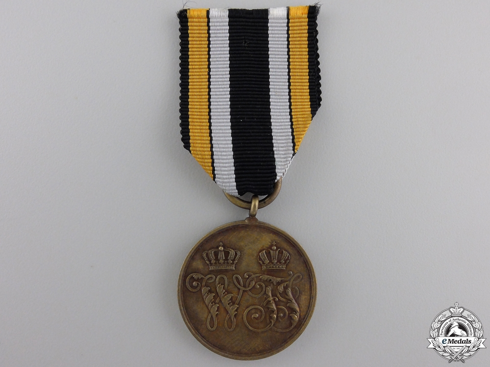 eMedals-An 1866 Prussian Campaign Medal  for the Denmark War