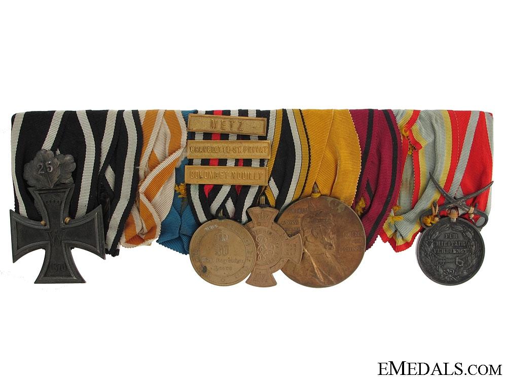 eMedals-An 1870-1871 War Prussian Medal Bar
