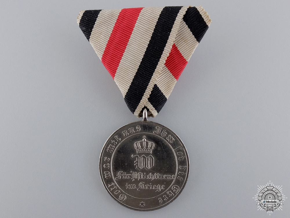 eMedals-An 1870-71 Prussian Non Combatant War Medal