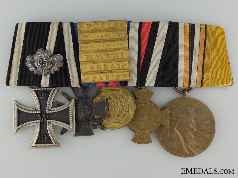 eMedals-An 1870 Iron Cross Medal Bar