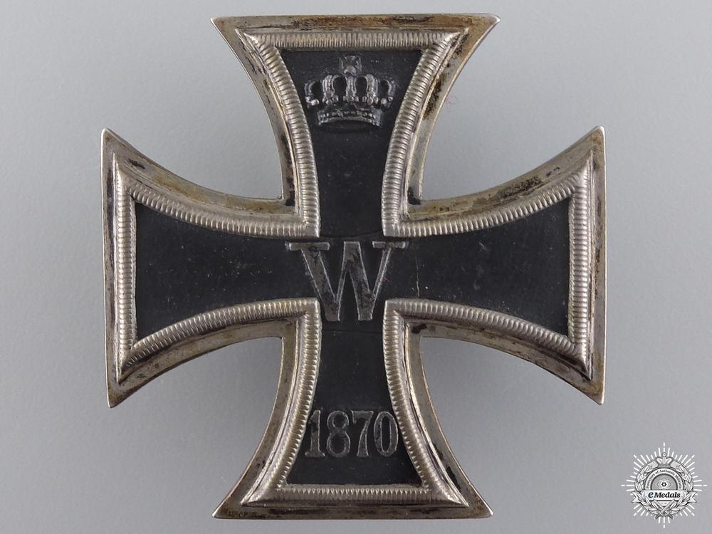 eMedals-An 1870 Iron Cross 1st Class to Ferdinand von Unruhe