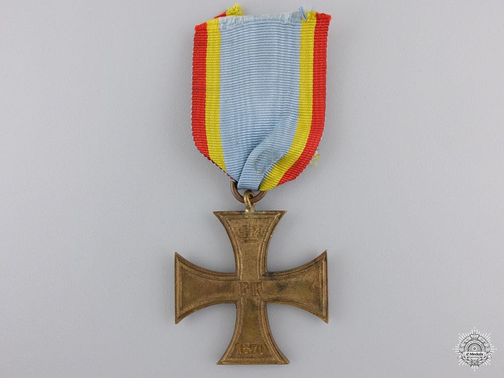 eMedals-An 1870 Mecklenburg War Merit Cross