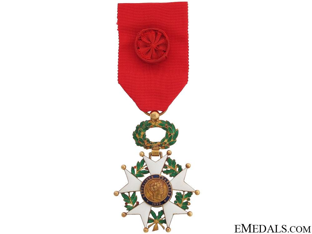 eMedals-An 1870s Gold Legion D'Honneur