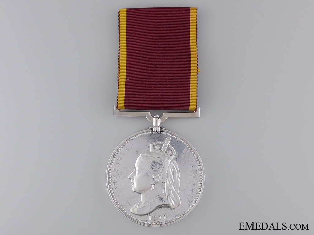 eMedals-An 1877 Empress of India Medal