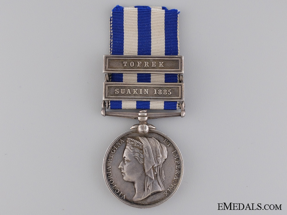 eMedals-An 1882-1889 Egypt Medal to the Royal Marine Light Infantry