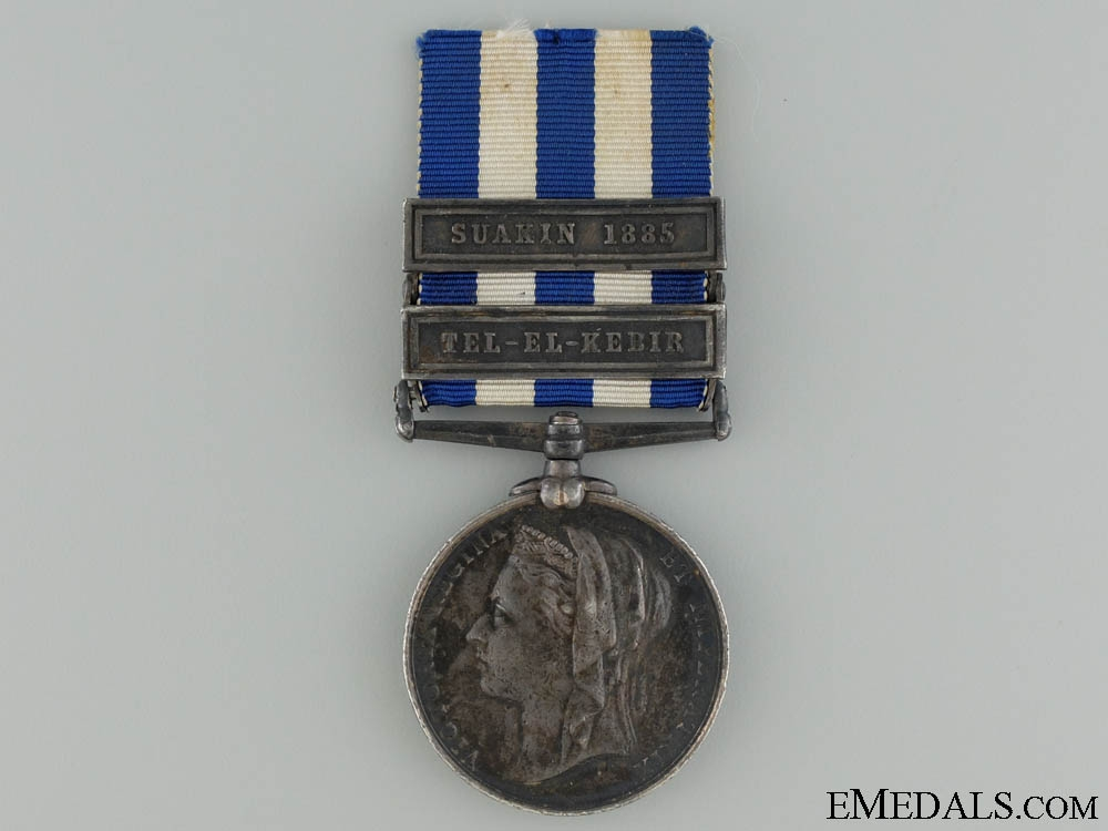 eMedals-An 1882 Egypt Medal with Two Bars