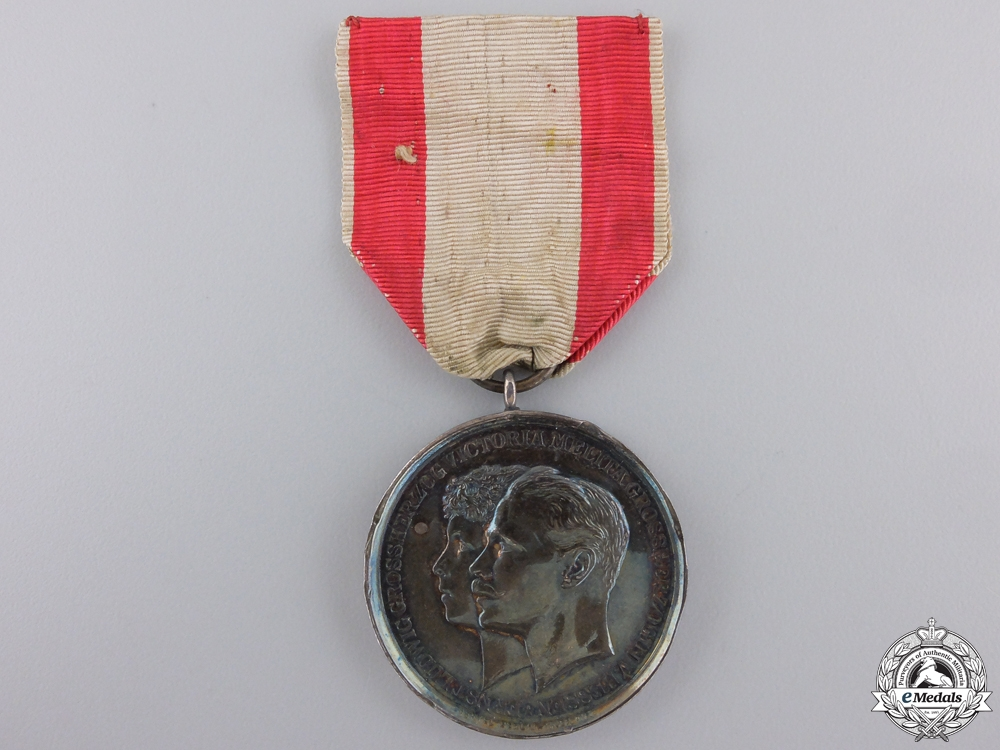 eMedals-An 1894 Hessen Wedding Merit Medal