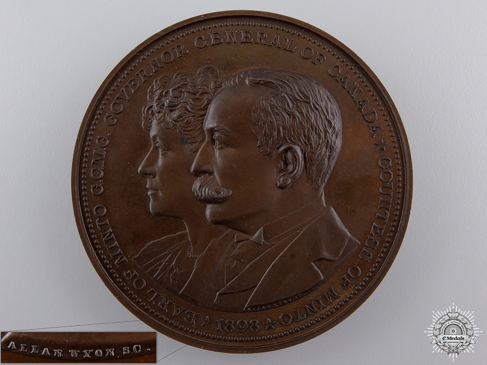 eMedals-An 1898 Canadian Governor General's Academic Medal