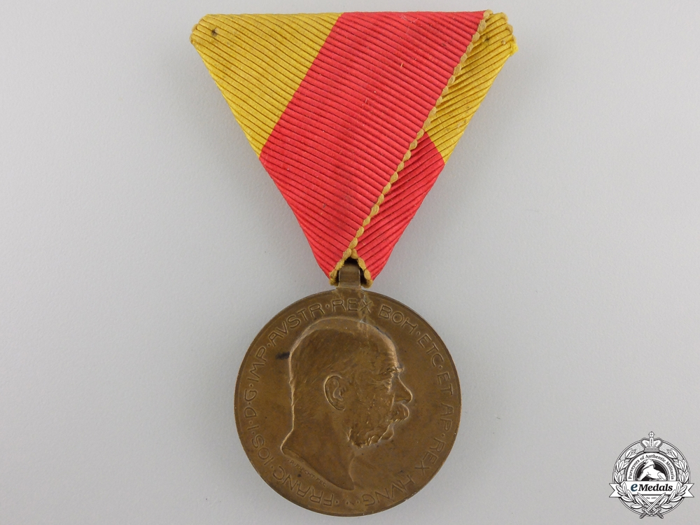 eMedals-An 1908 Austrian Bosnia Commemorative Medal