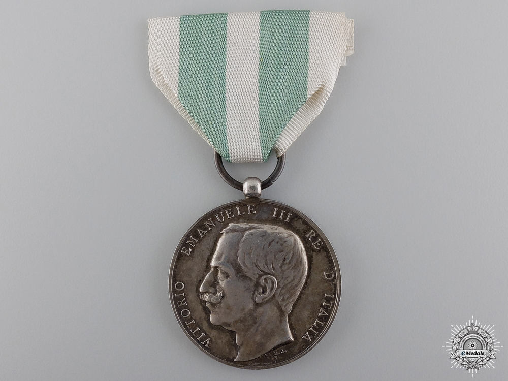 eMedals-An 1908 Sicilian Earthquake Medal