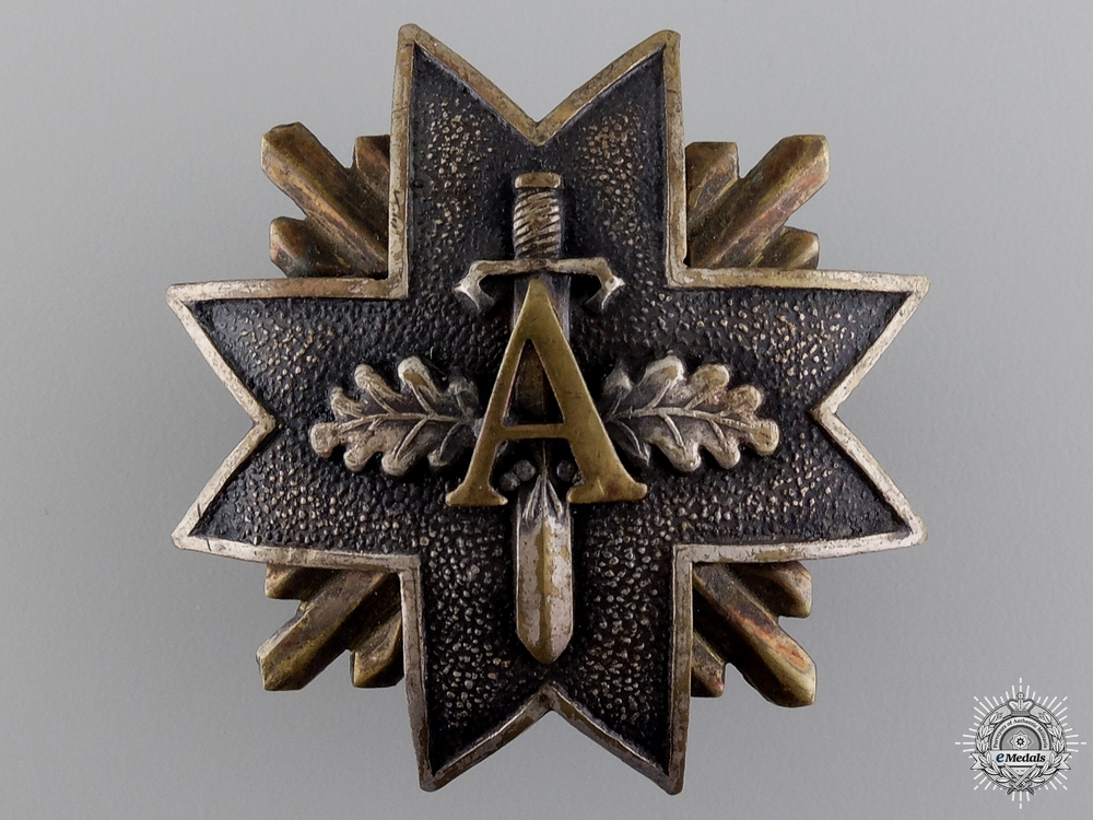 eMedals-An 1919-40 Latvian Military Badge