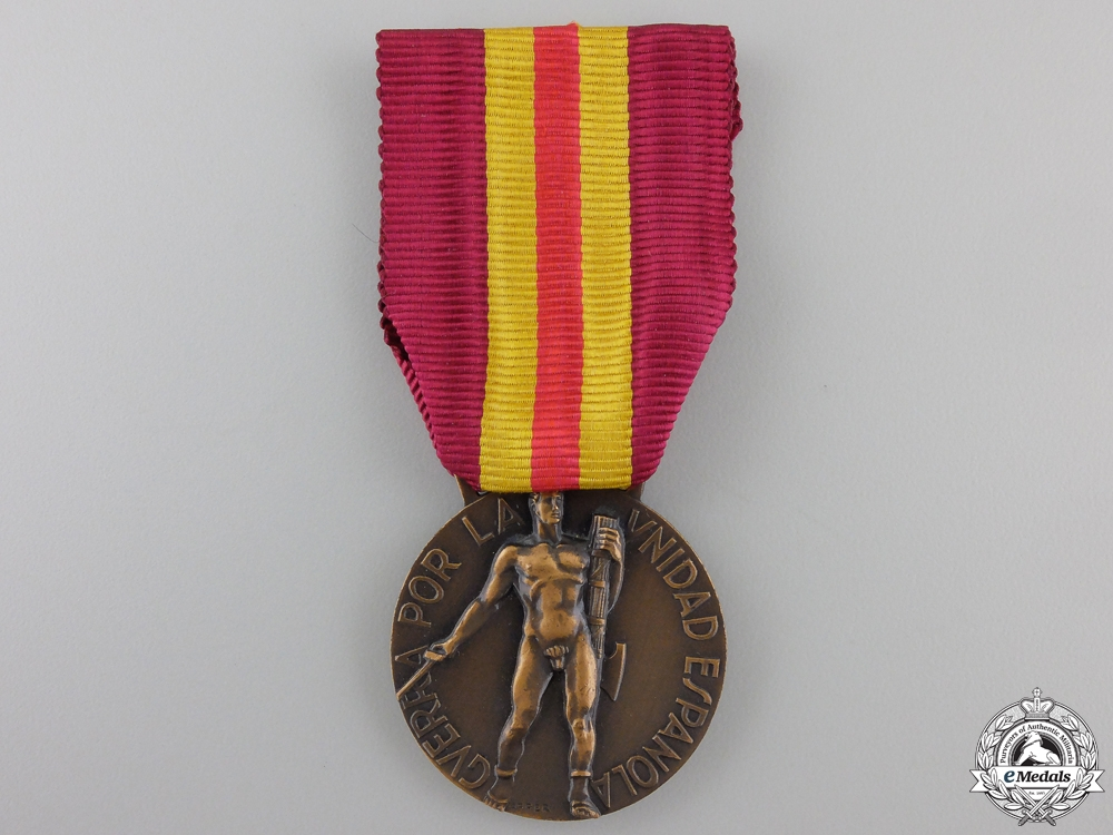 eMedals-An 1936 Italian Spanish Campaign Medal for Volunteers