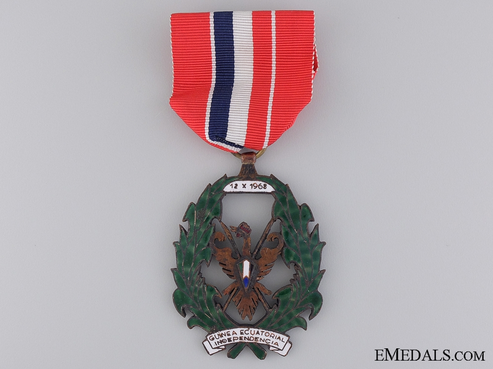 eMedals-An 1968 Equatorial Guinea Independence Order