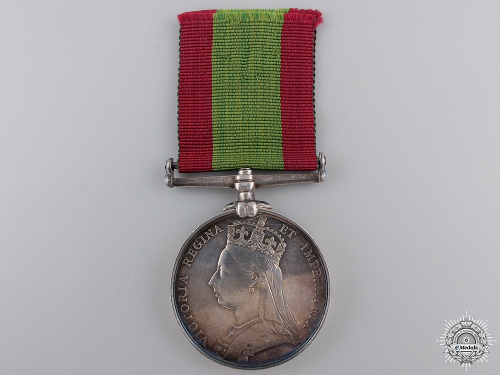 eMedals-An Afghanistan Medal 1878-1880 to the 61st Regiment of Foot