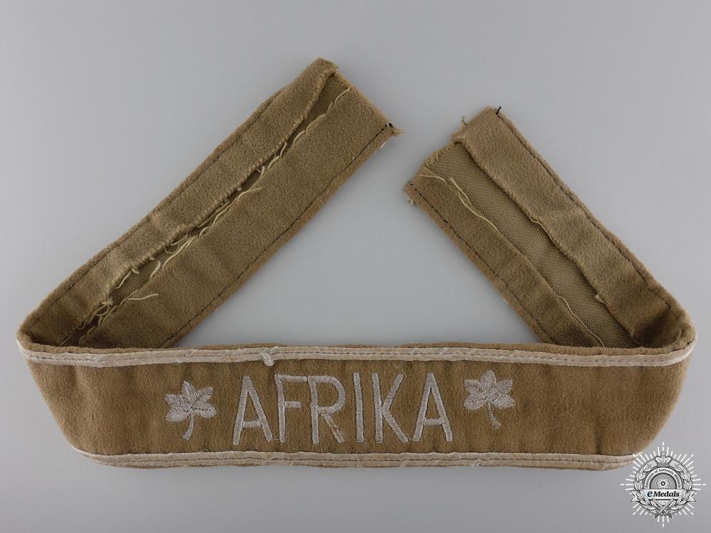 eMedals-An Afrika Campaign Cufftitle