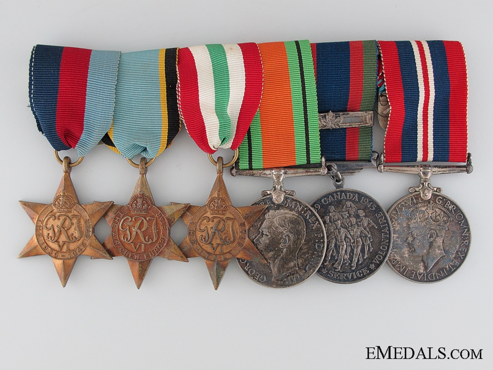 eMedals-An Air Crew Europe Italian Campaign Medal Bar