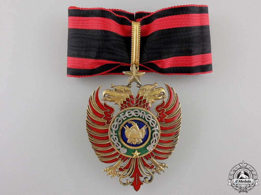 eMedals-An Albanian Order of Skanderbeg; Commander