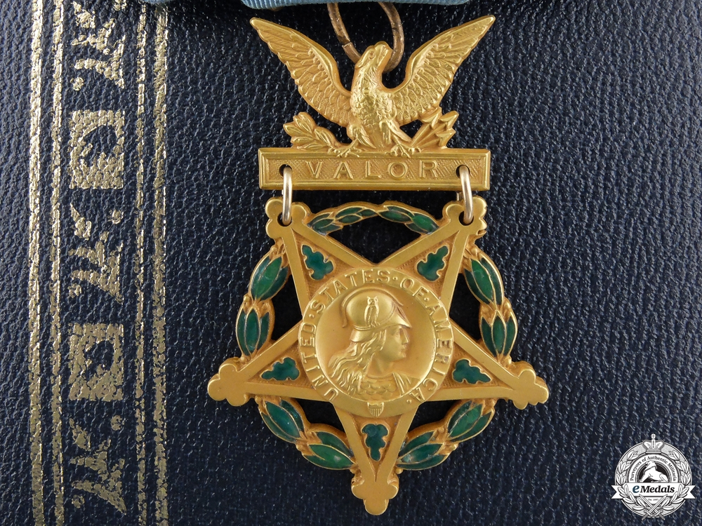 eMedals-An American Army Medal of Honor by H.L.P. N.Y. Co
