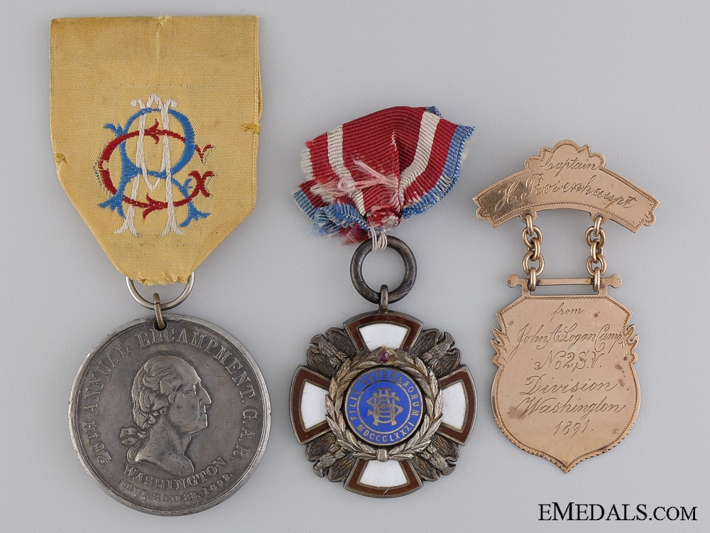 eMedals-An American Civil War Group to Captain H. Rosenhaupt